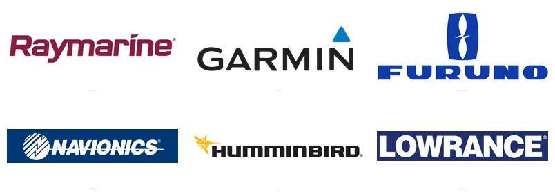 Навигационное оборудование Raymarine, Garmin, Furuno, KVH, Lowrance, Humminbird, Navionics